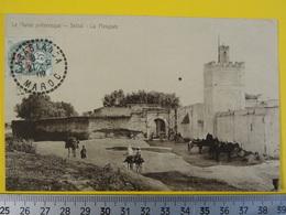 SETTAT - La Mosquée - Le Maroc Pittoresque Oblitération Casablanca De 1909 Photographe Grébert - Marokko