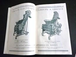 CATALOGUE MATERIEL DE VINIFICATION E. CHERREAU BEAUNE BOURGOGNE PRESSOIR CAPSULEUSE VITICULTURE AGRICULTURE VENDANGE - Other Collections