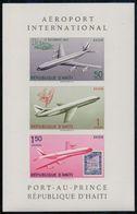 Rép.d'HAÏTI :1960: Y.BF16 Non Dentelé/neuf/MNH :## Aéroport International De Port-au-Prince ## AVIATION,AVION,AIRPLANE, - Haïti