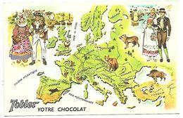 EUROPE OCCIDENTALE N° 1 - Le Tour Du Monde De TOBY - TOBLER - Cartes Postales