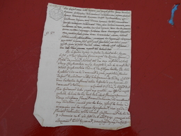 Acte Notarial  Cotes Du Nord  25 Cent - Manuscripts
