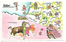 Le Tour De FRANCE De TOBY - TOBLER - Werbepostkarten