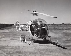 USA Bell Aircraft Corp. Helicoptere 47 Ancienne Photo Annees 1950 - Aviation