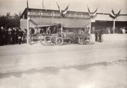 Italie Targa Bologna 1908? Course Automobile Pneus Michelin Ancienne Photo - Cars