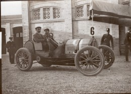 Italie Targa Bologna 1908 Vainqueur Jean Porporato Sur Berliet Course Automobile Ancienne Photo - Cars