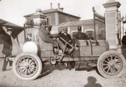 Italie Targa Bologna 1908 Domenico Piccoli Sur SPA Course Automobile Ancienne Photo - Cars