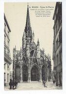 CPA Rouen Église Saint Maclou Célèbre Par Ses Portes En Bois Sculpté Goujon N° 15 - Rouen