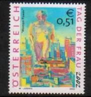 """Österreich 2002:   """"Tag Der Frau""""  Postfrisch - 1945-.... 2de Republiek"""