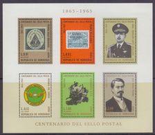 Rep. De HONDURAS :1966: Y.BF10 Dentelled & Not Dentelled/neufs/MNH : ## Centenary Of The Postal Stamp ## : ROWLAND HILL, - Honduras