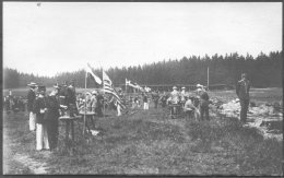 1912 Sweden Stockholm Olympics Official Postcard No 5. 'The Shooting Stands At Kakuas' - Olympic Games