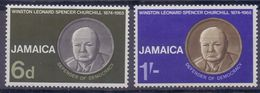 JAMAICA :1966: Y.259-60 Dentelled/neufs/MNH : ## Anniversary Of The Death Of Winston Churchill ## - Jamaique (1962-...)