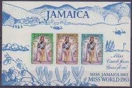 JAMAICA :1964: Y.BF1 Not Dentelled/neuf/MNH :  ## Miss Carole Joan Crawford – MISS JAMAICA & MIS WORLD 1963 ## : ... - Jamaique (1962-...)