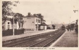 78 - LES CLAYES SOUS BOIS - La Gare - Les Clayes Sous Bois