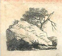 CH.18-jmt-252 : EX-LIBRIS. ALPH. DE LAVAL. - Ex-libris