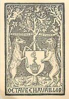 CH.18-jmt-253 : EX-LIBRIS. OCTAVE CHAVAILLOR - Ex-libris
