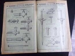CATALOGUE FONDERIE R. GARNIER GARLANDAT BORDEAUX ROBINETERIE VINICOLE VITICULTURE AGRICULTURE VENDANGE VIGNERON ALCOOL - 1800 – 1899