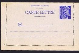 Carte Lettre Type Mercure 1 Fr   Yv SPE-CL1 Neuve ** - Postal Stamped Stationery