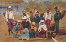 La Birmania Pittoresca - Portatori Cariani - Myanmar (Burma)