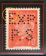 """N° 511g**_Perforé De Saumur_impression Défectueuse Sur """"POSTES""""_voir Verso_bon Centrage - Nuovi"""