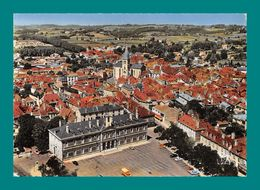 64 Orthez Place De L' Hotel De Ville En Avion Au Dessus ( Vue Aérienne ) - Orthez