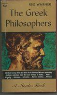 Rex WARNER The Greek Philosophers (les Philosophes Grecs) - Pre-1700