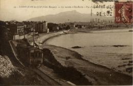64  SAINT-JEAN-DE-LUZ - La Montée à Sainte Barbe - La Rhune - TRAMWAY - Saint Jean De Luz