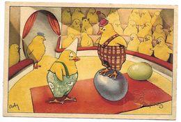 JOYEUSES  PAQUES - Poussins - Easter