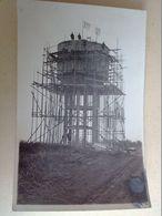 85  CARTE  PHOTO  CONSTRUCTION  D  UN  CHATEAU  D  EAU     A LOCALISER PLUS  PRECISEMENT - France