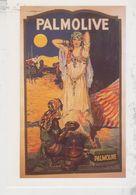 Publicité Sur Carte Postale - Palmolive (Anonyme) - Publicidad