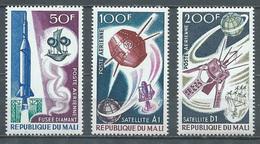 Mali Poste Aérienne YT N°42/44 Satellites Français Neuf ** - Mali (1959-...)