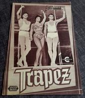 """Altes NFP-Filmprogramm - GINA LOLLOBRIGIDA In """"TRAPEZ"""" Mit Burt Lancaster, Tony Curtis ... - 180605 - Magazines"""
