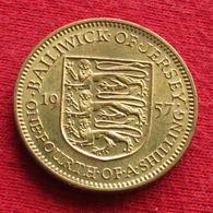 Jersey 1/4 Shilling 1957 KM# 22 - Jersey