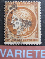 Lot FD/688 - CERES DU SIEGE DE PARIS N°38d VARIETE ☛ 4 RETOUCHE - Cote : 200,00 € - 1870 Siège De Paris