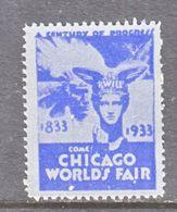 U.S.  CHICAGO  WORLDS  FAIR  1933  ** - Universal Expositions