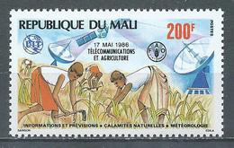 Mali YT N°534 Télécommunications Au Service De L'agriculture Neuf ** - Malí (1959-...)