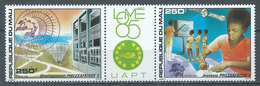 Mali YT N°526A Exposition Philatélique Philexafrique III Lomé 1985 (Triptyque Se-tenant) Neuf ** - Malí (1959-...)