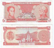 Venezuela 5 Bolivares 1989 Pick 70.a  Pick 70.a Ref 1489 - Venezuela
