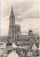 FRANCIA - France - 1955 - 12F Quimper + Hexagonal + Special Cancel Tour - 67 Bas Rhin - Strasbourg - La Cathédrale - Via - Strasbourg