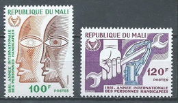 Mali YT N°422/423 Personnes Handicapées Neuf ** - Malí (1959-...)