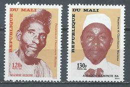 Mali YT N°408/409 Penseurs Et Chercheurs Maliens Neuf ** - Malí (1959-...)