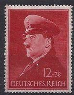 Germany 1941   Geburtstag (*)  MM  Mi.772 X - Allemagne