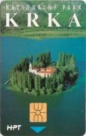 CROATIA : CRO099 50 Imp KRKA NACIONAL PARK MINT - Croatie
