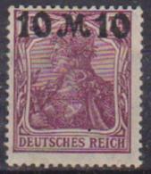GERMANIA REICH IREP.DI WEIMAR 1921 ALEGORIA SOPRASTAMPATA UNIF. 137 MLH VF - Ungebraucht
