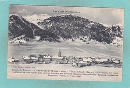 Small Postcard Of Le Montgenevre,Provence-Alpes-Côte D'Azur,France.,Q84. - Francia