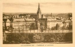 LUXEMBOURG. La Cathédrale - Luxembourg - Ville