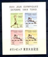 A7- Haiti. Tokyo Olympic Games 1964. Sports. - Summer 1964: Tokyo