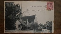 45 - CPA Rare, Belle Animation LA SELLE-EN-HERMOIS (Loiret) - L'Eglise 1904 - Autres Communes