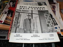 Prvi Gradjanin Male Varosi - Posters