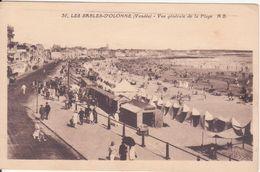 CPA -  36. LES SABLES D'OLONNE - Vue Générale De La Plage - Sables D'Olonne