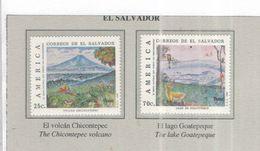 El Salvador 1990 Upae America  Scott.1251+1252+ See Scan Nuovi - El Salvador